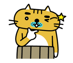 OSSAN NEKO2 sticker #361096