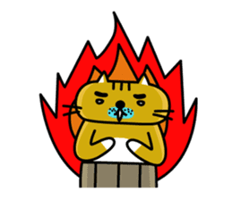 OSSAN NEKO2 sticker #361100