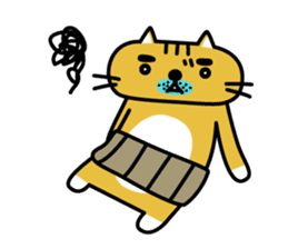 OSSAN NEKO2 sticker #361101
