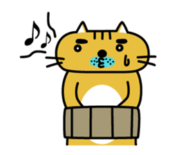 OSSAN NEKO2 sticker #361102