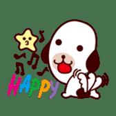 Dog accompany to you - HOLD HOLD JAI JAI sticker #361994