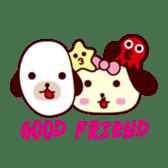 Dog accompany to you - HOLD HOLD JAI JAI sticker #362006