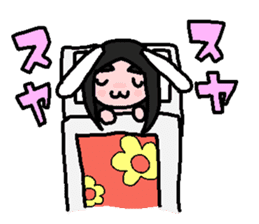 kemomimi girl sticker #362201
