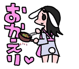kemomimi girl sticker #362206