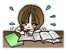 PIYOKO's daily life sticker #363839