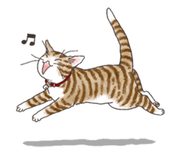 Tabby CATS sticker #364503