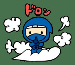 little ninja Chibikage sticker #364717