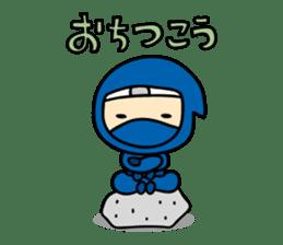 little ninja Chibikage sticker #364721
