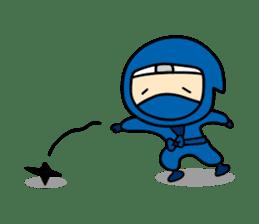 little ninja Chibikage sticker #364732
