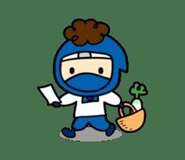 little ninja Chibikage sticker #364733