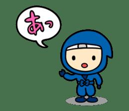 little ninja Chibikage sticker #364736