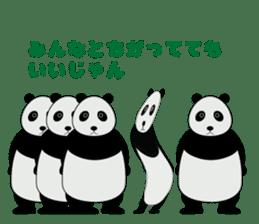 """Peranperan Panda"" sticker #365274"
