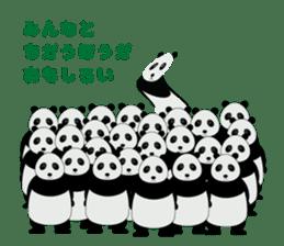 """Peranperan Panda"" sticker #365282"