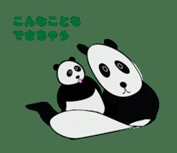 """Peranperan Panda"" sticker #365284"