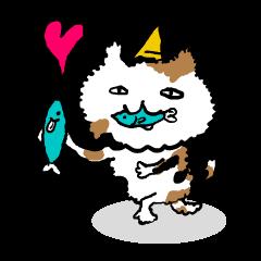 Animal Party[Cat & Dog & Black Moor]