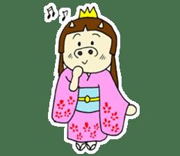 Pig Princess sticker #366668
