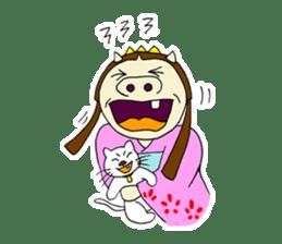 Pig Princess sticker #366671