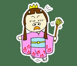 Pig Princess sticker #366676