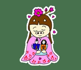 Pig Princess sticker #366681