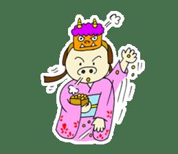 Pig Princess sticker #366682