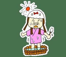 Pig Princess sticker #366690
