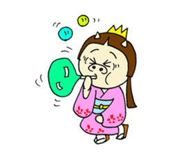 Pig Princess sticker #366693