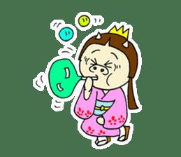 Pig Princess sticker #366693