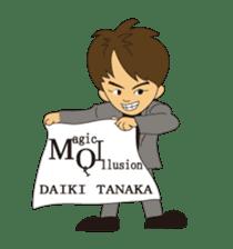 Illusionist DAIKI TANAKA sticker #366785