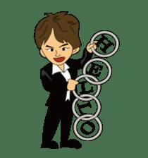 Illusionist DAIKI TANAKA sticker #366786