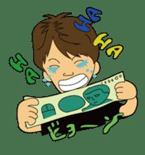 Illusionist DAIKI TANAKA sticker #366799