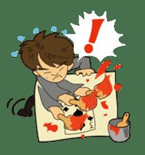 Illusionist DAIKI TANAKA sticker #366821