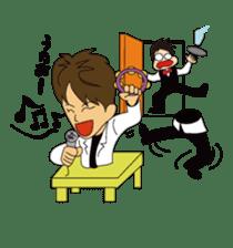 Illusionist DAIKI TANAKA sticker #366823