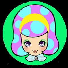 Retro pop girl