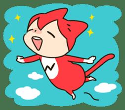 Nyankoro by Illustrator MAYA sticker #368383