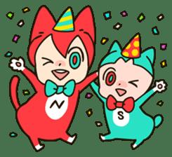 Nyankoro by Illustrator MAYA sticker #368384