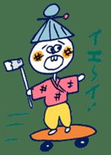 Satoshi's happy characters vol.07 sticker #368667