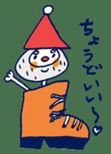 Satoshi's happy characters vol.07 sticker #368675