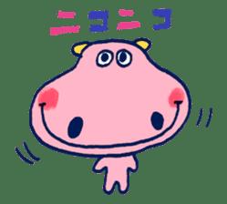 Satoshi's happy characters vol.07 sticker #368679