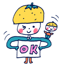 Satoshi's happy characters vol.07 sticker #368683