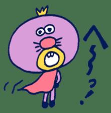 Satoshi's happy characters vol.07 sticker #368690