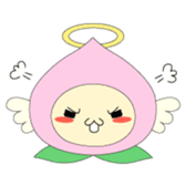 Angel momo in love sticker #368986