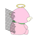 Angel momo in love sticker #368996