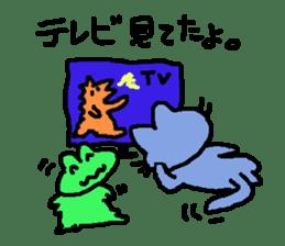mimisuke-tencho2 sticker #370907
