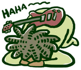 RastaMan sticker #371230