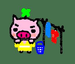The life of [Kobutasan] sticker #371586