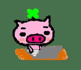 The life of [Kobutasan] sticker #371592