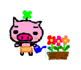 The life of [Kobutasan] sticker #371602