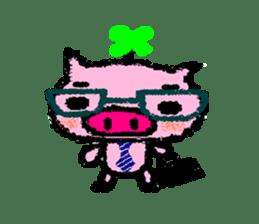 The life of [Kobutasan] sticker #371605