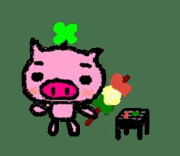 The life of [Kobutasan] sticker #371609