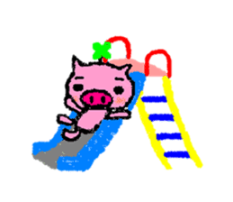 The life of [Kobutasan] sticker #371610